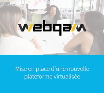 Webqam - projet cloud avec nfrance